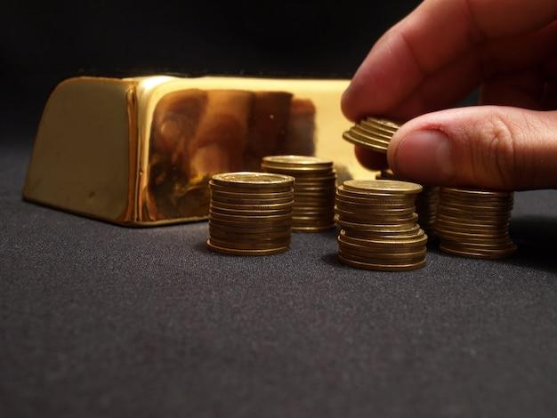 すべての味の金 Premium写真
