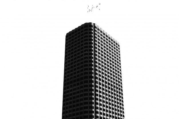 Высокое здание с чистым белым цветом Бесплатные Фотографии
