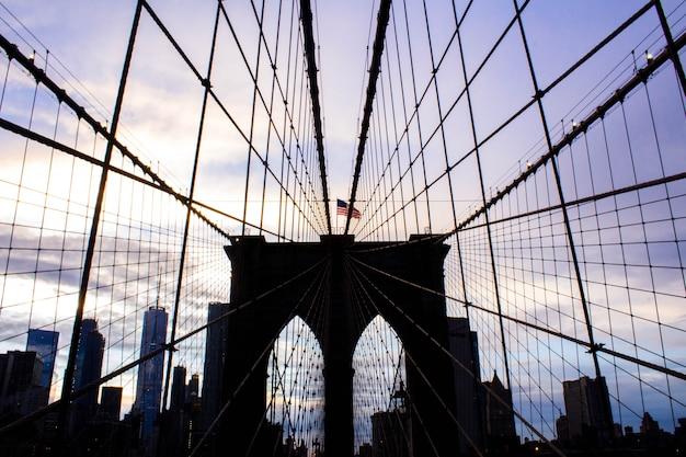ブルックリンブリッジ 無料写真