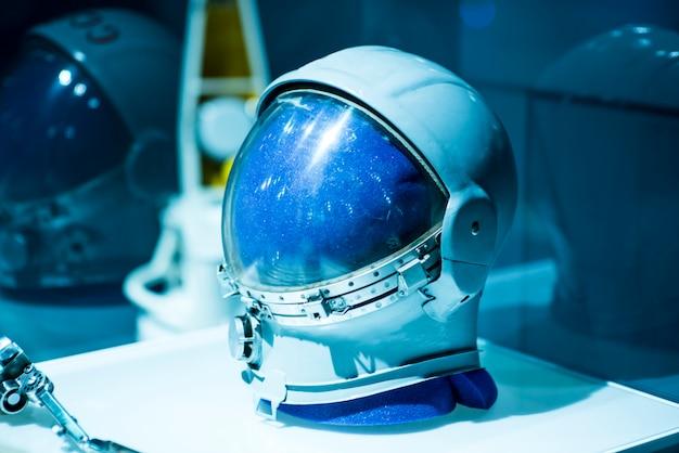 ソビエトパイロット軍用宇宙ヘルメット Premium写真