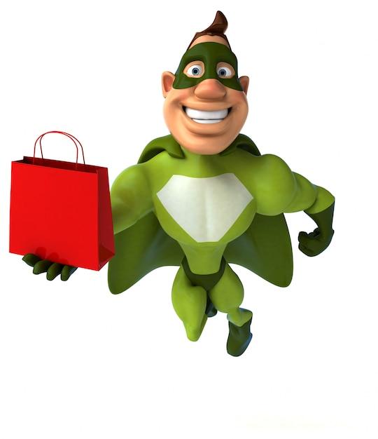 楽しいスーパーヒーロー Premium写真