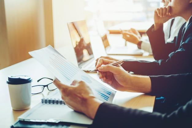 ビジネスプランニング戦略分析コンサルタントの将来計画に関するコンセプト Premium写真