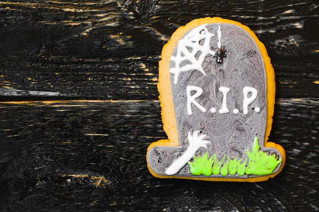 Вкусные сладости на хэллоуин для детей Premium Фотографии