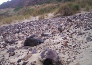 岩とスコリア 無料写真