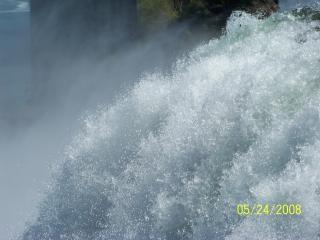 ナイアガラの美しさはなだめるような滝 無料写真