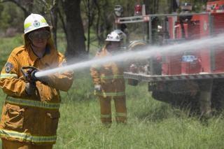 Пожарный, работа Бесплатные Фотографии