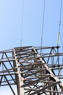 電力線、空 無料写真