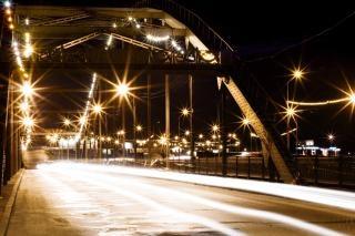 夜景の街 無料写真
