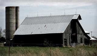 農村古い納屋 無料写真