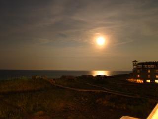 月明かりに照らされた夜の月明かり 無料写真