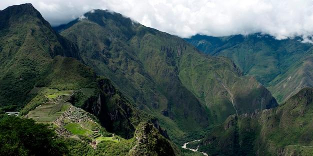 ペルー、クスコ、マチュピチュ、インカの失われた都市 Premium写真