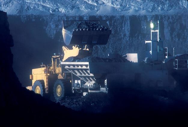 石炭鉱業 Premium写真
