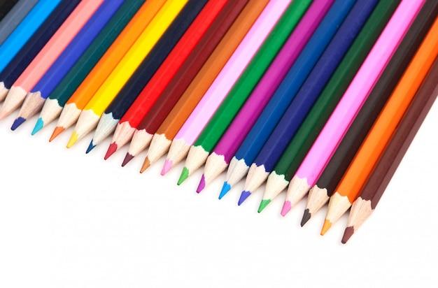 Цветные карандаши Premium Фотографии