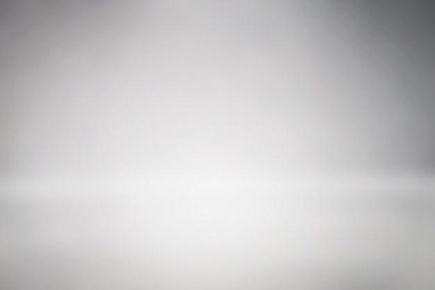クリーンスペーススタジオの背景抽象グラデーショングレー Premium写真