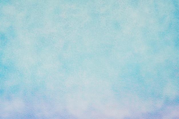 美しいビンテージライトブルーの背景壁ペイント装飾背景 Premium写真