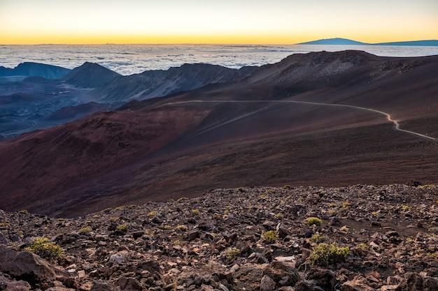Природный ландшафт с горами Бесплатные Фотографии