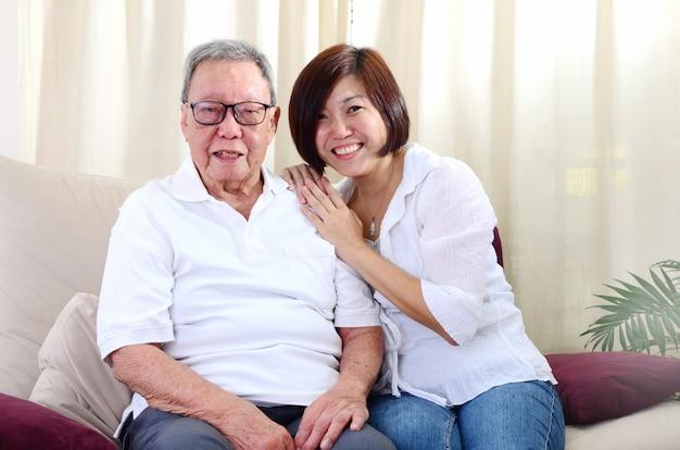 アジアの家族 Premium写真