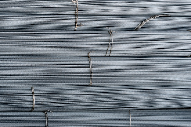 倉庫の鉄筋 Premium写真