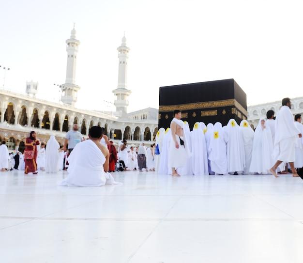 マッカ・カーバ・ハジ・ムスリム Premium写真