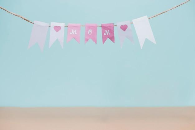 Фантастическая гирлянда за день матери Бесплатные Фотографии