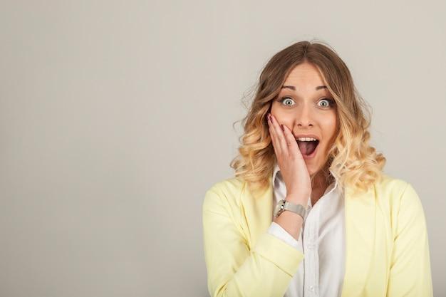 Удивленная женщина Бесплатные Фотографии