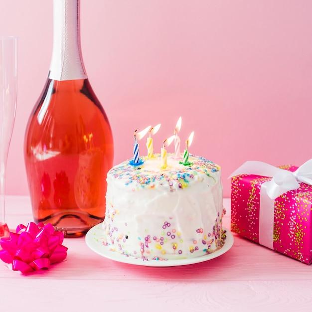Торт шампанское картинки