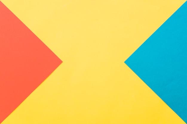 Геометрический фон в желтом, красном и синем Бесплатные Фотографии