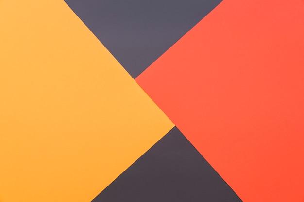 Геометрический фон желтый, красный и черный Бесплатные Фотографии