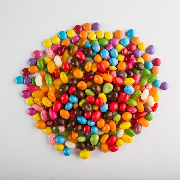 Куча ярких конфет Бесплатные Фотографии