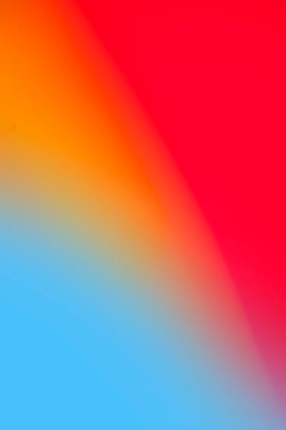 鮮やかな虹色のグラデーション 無料写真