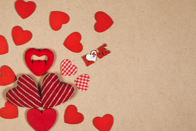 Любовь, сочиняя близких сердец Бесплатные Фотографии