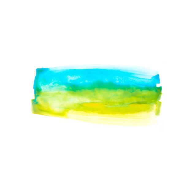紙の青と黄色の線 無料写真