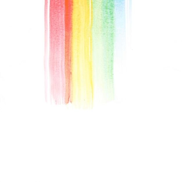 紙のカラフルな線 無料写真