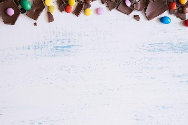 チョコレートキャンディーとチョコレート 無料写真