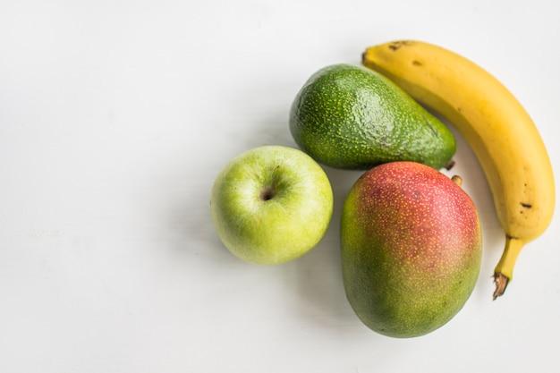 白いおいしいフルーツ 無料写真