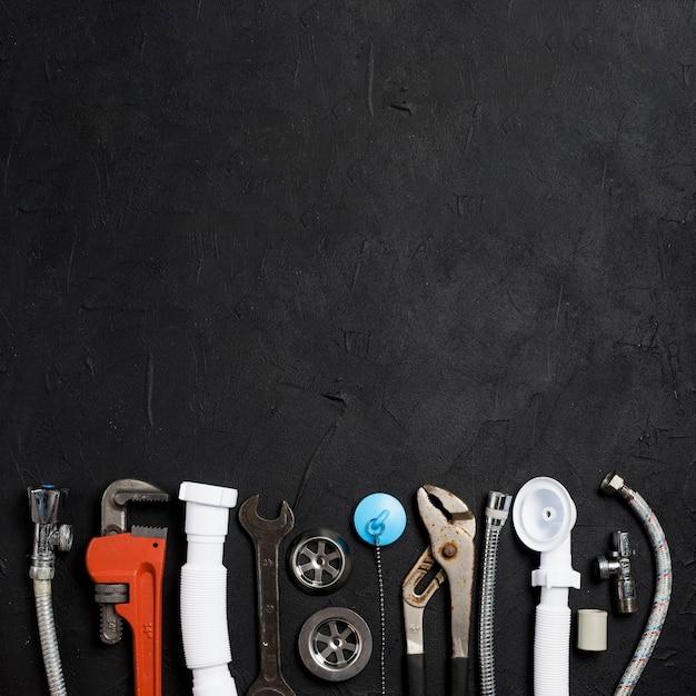 配管用の異なる機器 無料写真