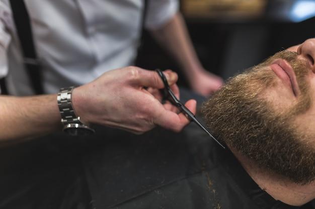 Парикмахерская с бородой Бесплатные Фотографии