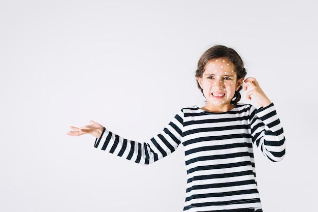ひどい怒りの女の子 無料写真