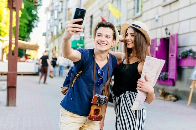 Пара в отпуске Бесплатные Фотографии