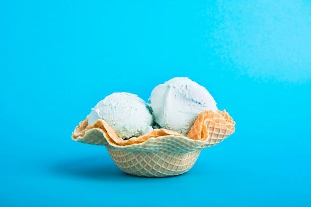 夏のアイスクリームコンセプト 無料写真