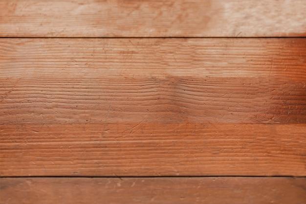 茶色の木のテクスチャ背景のオーバーヘッドビュー 無料写真