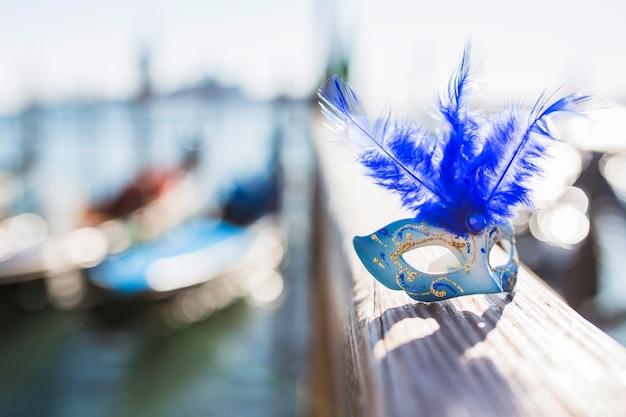 エレガントなベネチアのカーニバルの組成 無料写真