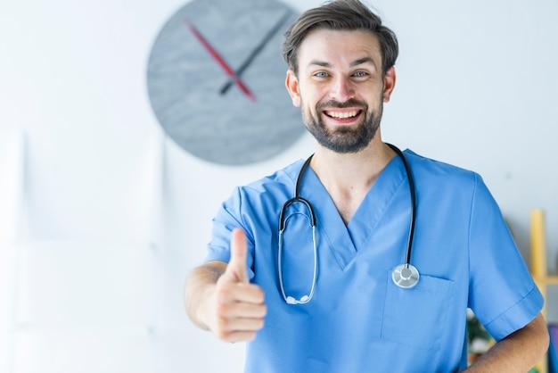 若い、医者、身に着けている 無料写真