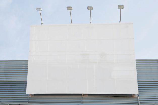 ライトを使ったブランディング広告 無料写真