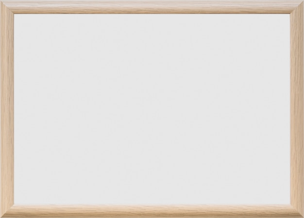 プレーンな背景の空白のホワイトボード 無料写真