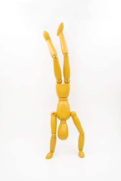 異なる姿勢を持つクラシックダミー 無料写真