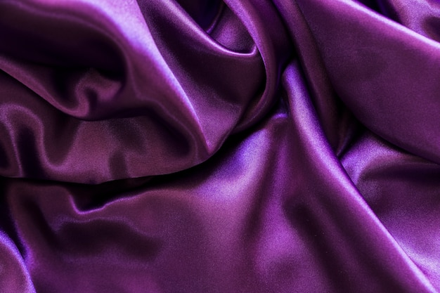 Гладкий сиреневый шелковый текстильный фон Бесплатные Фотографии