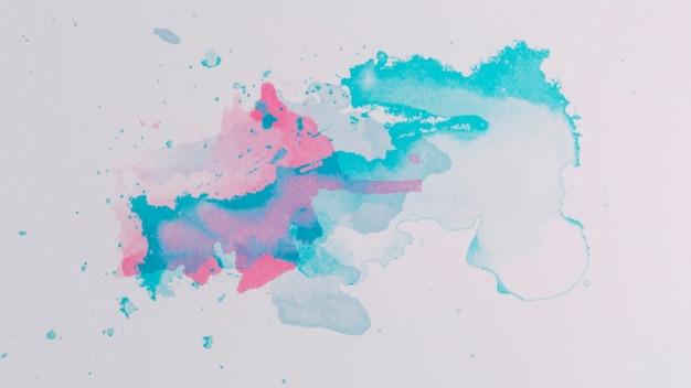 抽象的なデザインと現代の水彩の背景 無料写真