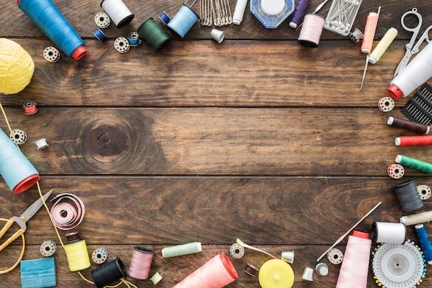 縫製品からのボーダー 無料写真