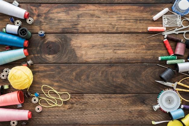 縫製ツールのセット 無料写真